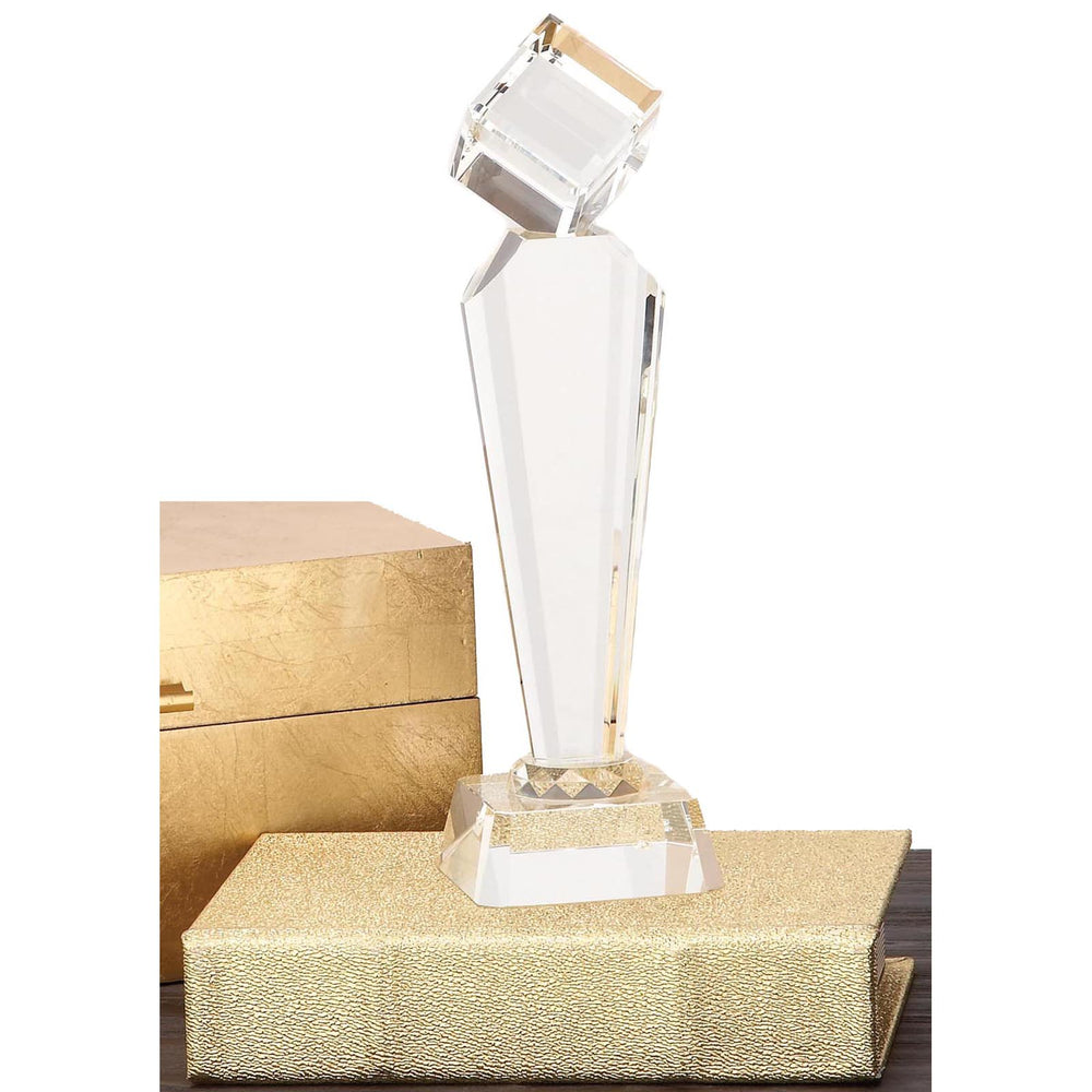 Urban Designs Diamond Tower Crystal Trophy Sculpture