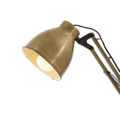 Urban Designs Brass Metal Desk Task Lamp
