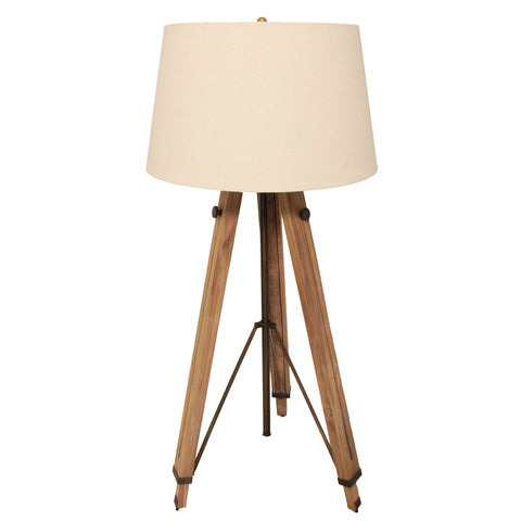 Urban Designs Surveyor Height Adjustable Tripod Floor Lamp