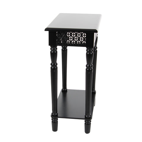 Urban Designs California Collection Wood Rectangular Side Table