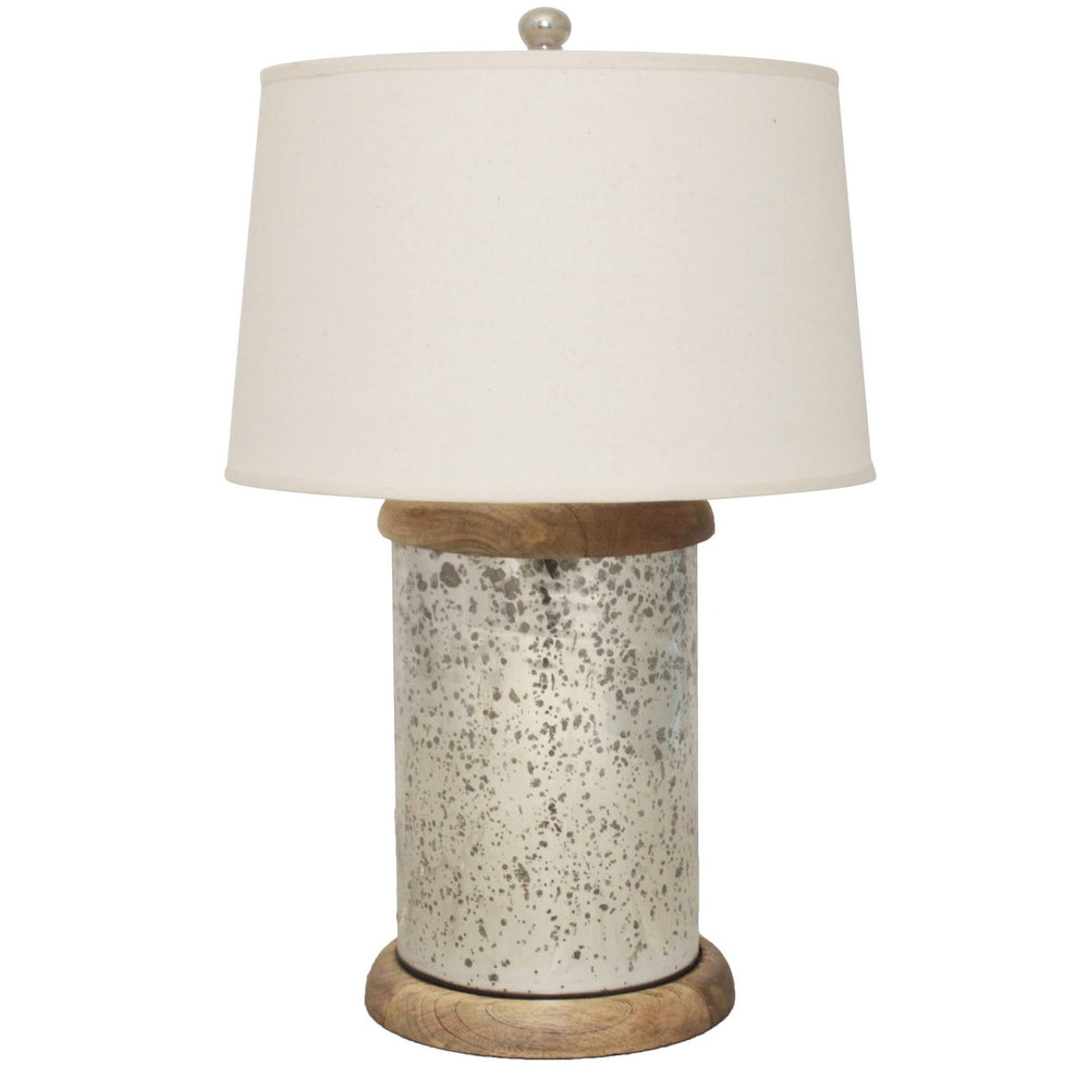Urban Designs Sophie Mercury Glass Table Lamp