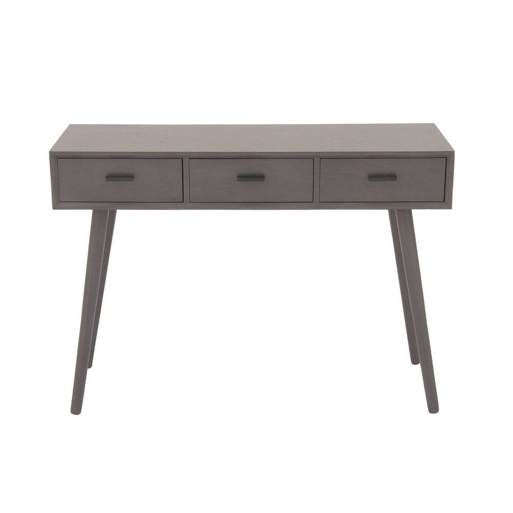 Urban Designs Alton 3-Drawer Wood Console Table