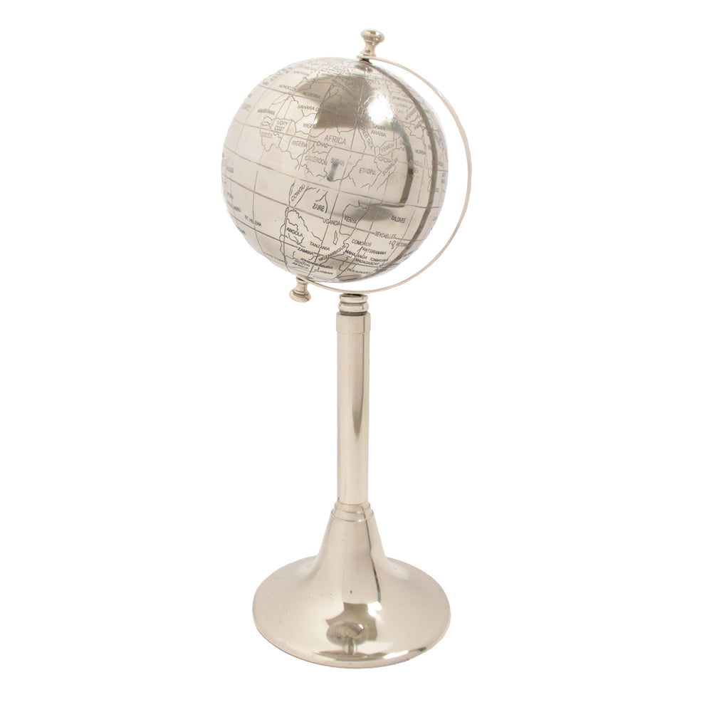 Urban Designs 23-Inch Aluminum World Globe