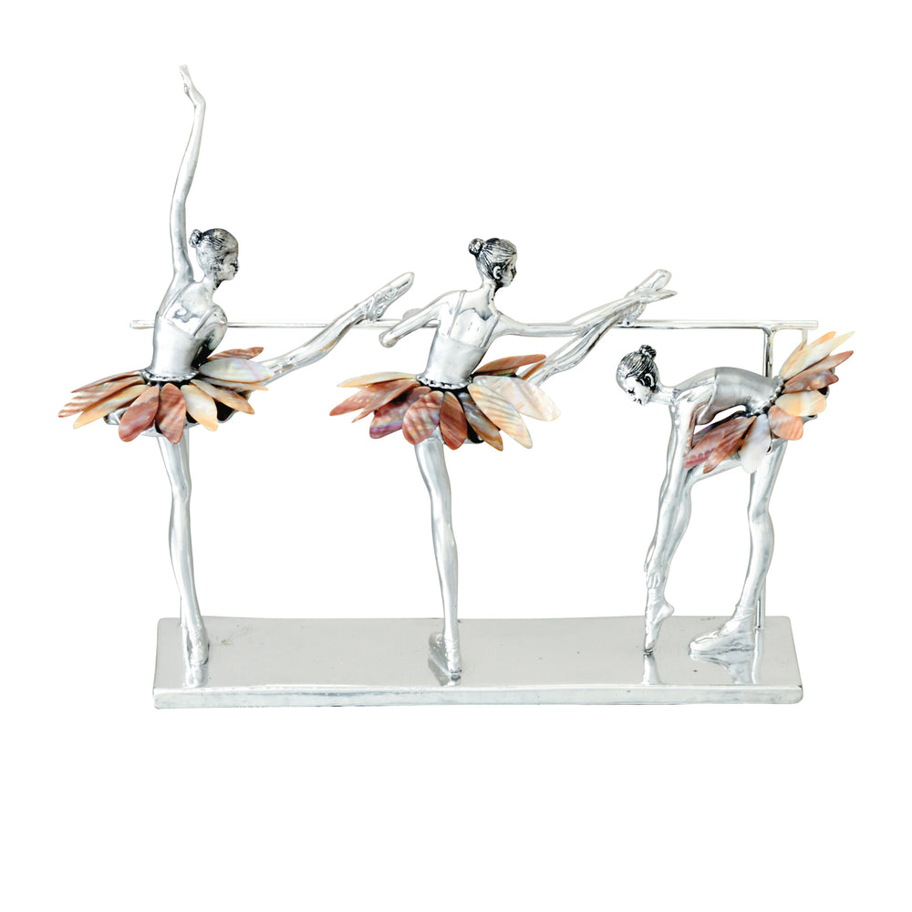 Urban Designs Decorative Three Ballet Dancers Figurines