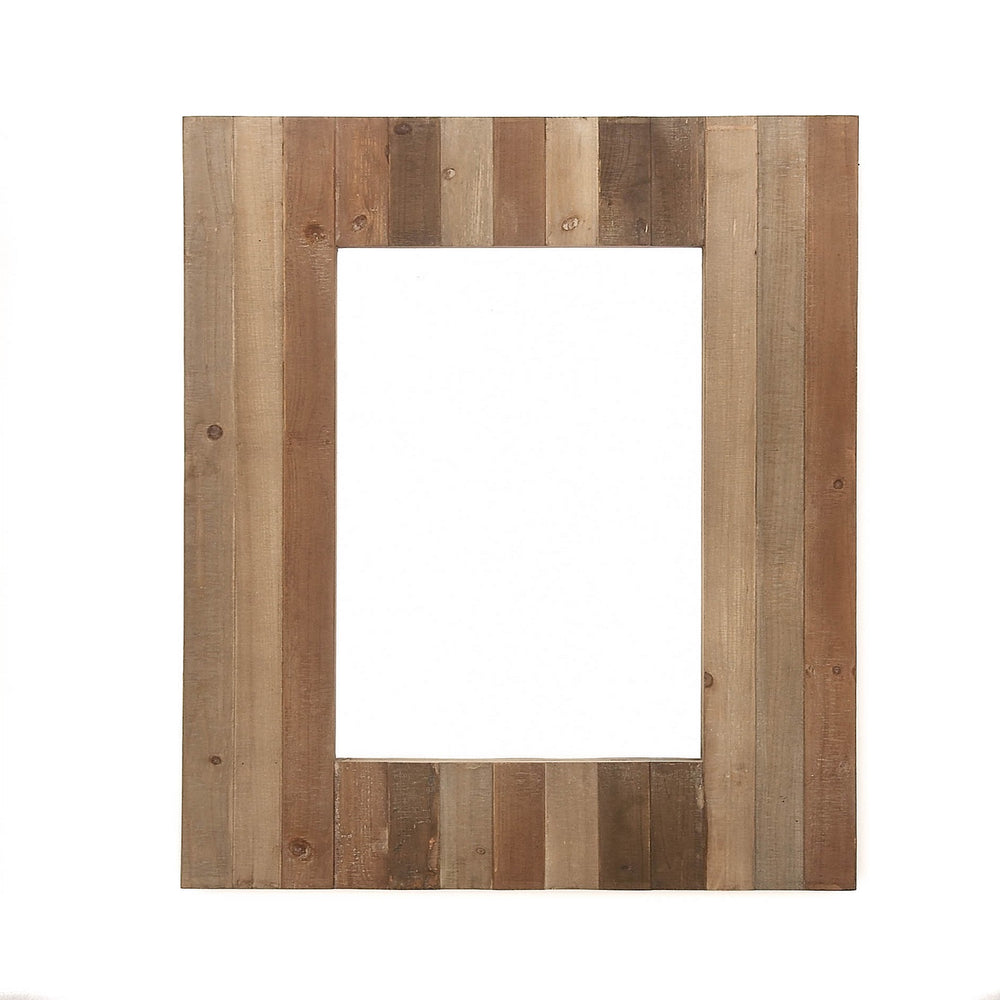 Urban Designs Rustic Wood 38-Inch Wall Mirror