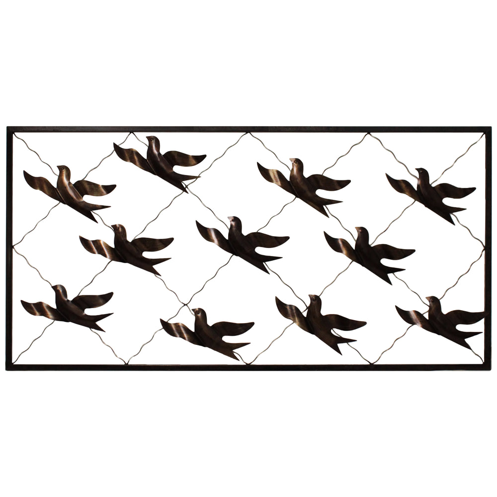 Urban Designs Bird Migration Handcrafted Metal Wall Art