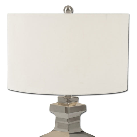 Urban Designs Reeve Collection 24-inch Stainless Steel Table Lamp