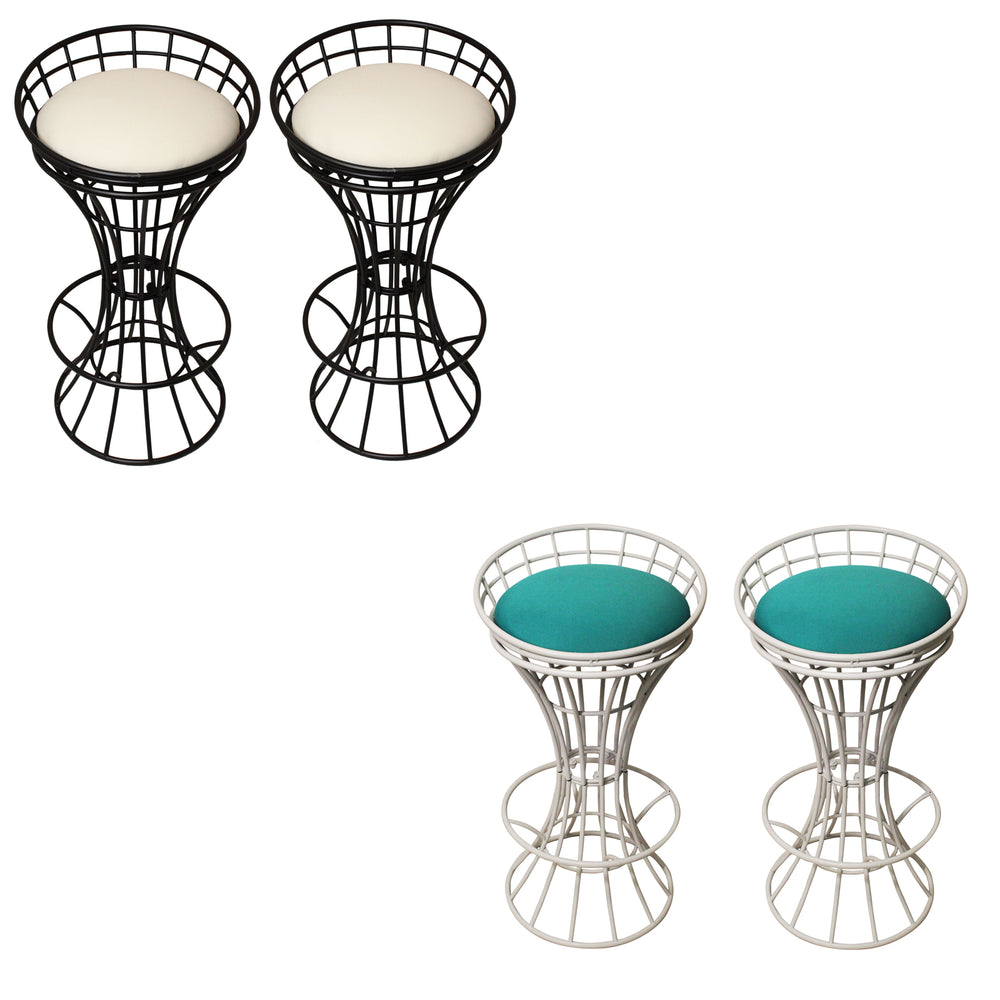 Urban Designs Outdoor Garden Metal Bar Stool Set