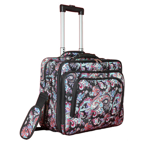World Traveler Rolling 17-inch Laptop Case