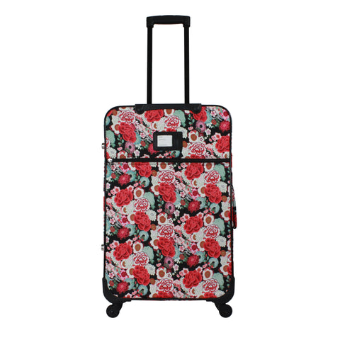 World Traveler 3-Piece Rolling Expandable Spinner Luggage Set