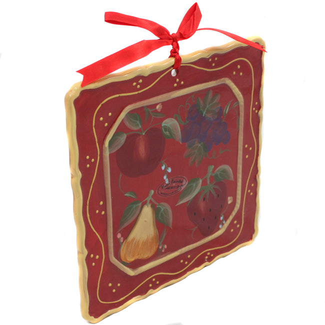 Sandy's Orchard Decorative Hanging Wall Decor Plague