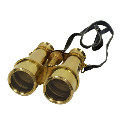 Urban Designs Naval Solid Brass Binocular Nautical Decor