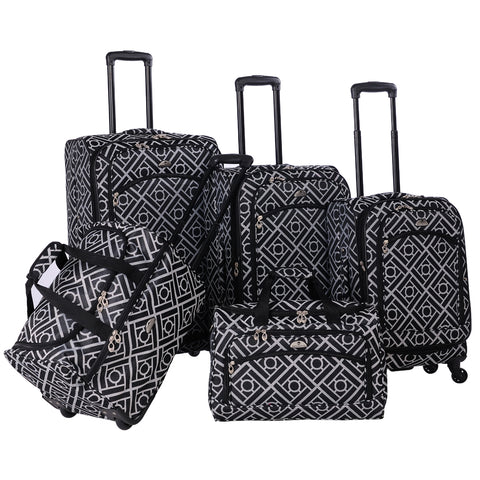 American Flyer The Astor Collection 5-Piece Spinner Luggage Set