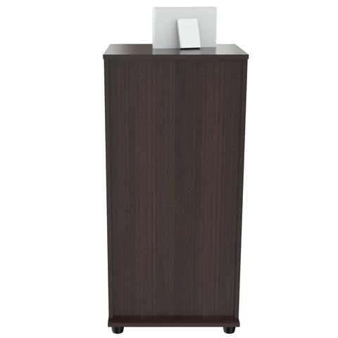 Inval Three Drawer File - Espresso Wengue