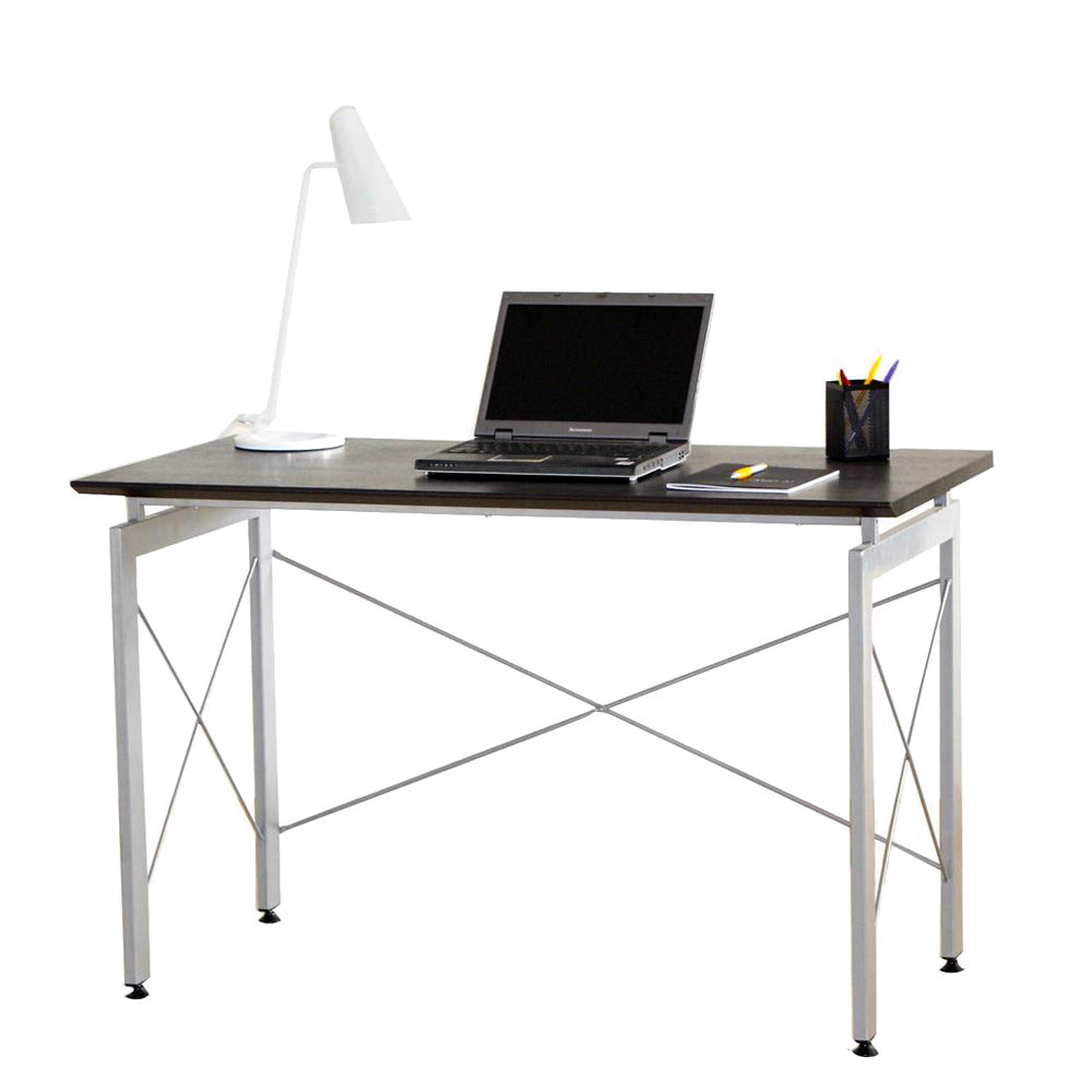 Modern Design Stylish Office Desk - Chocolate Top