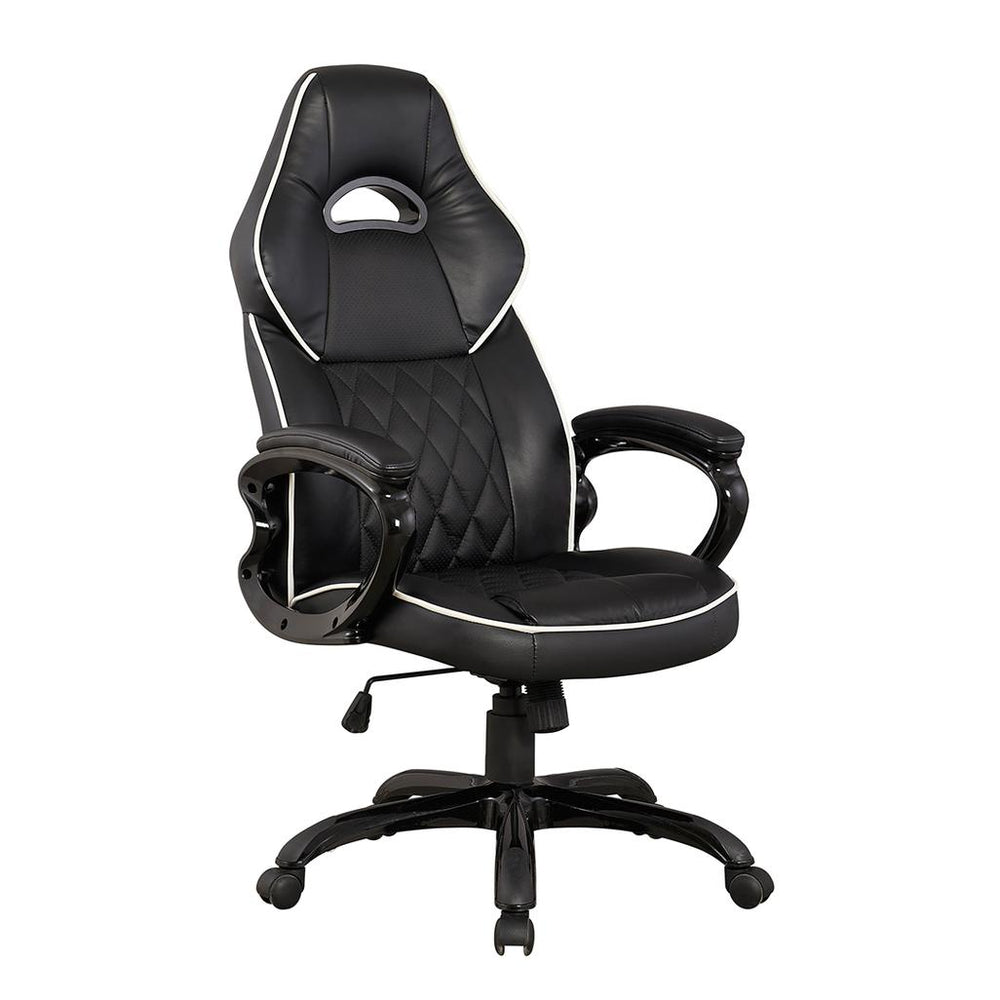 Office Express High Back Race Series Executive Office Chair - Black