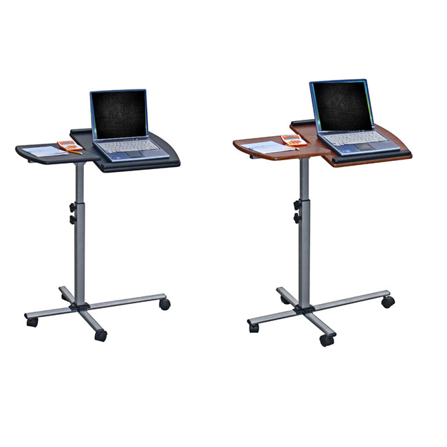 Adjustable Mobile Rolling Laptop Notebook Computer Cart