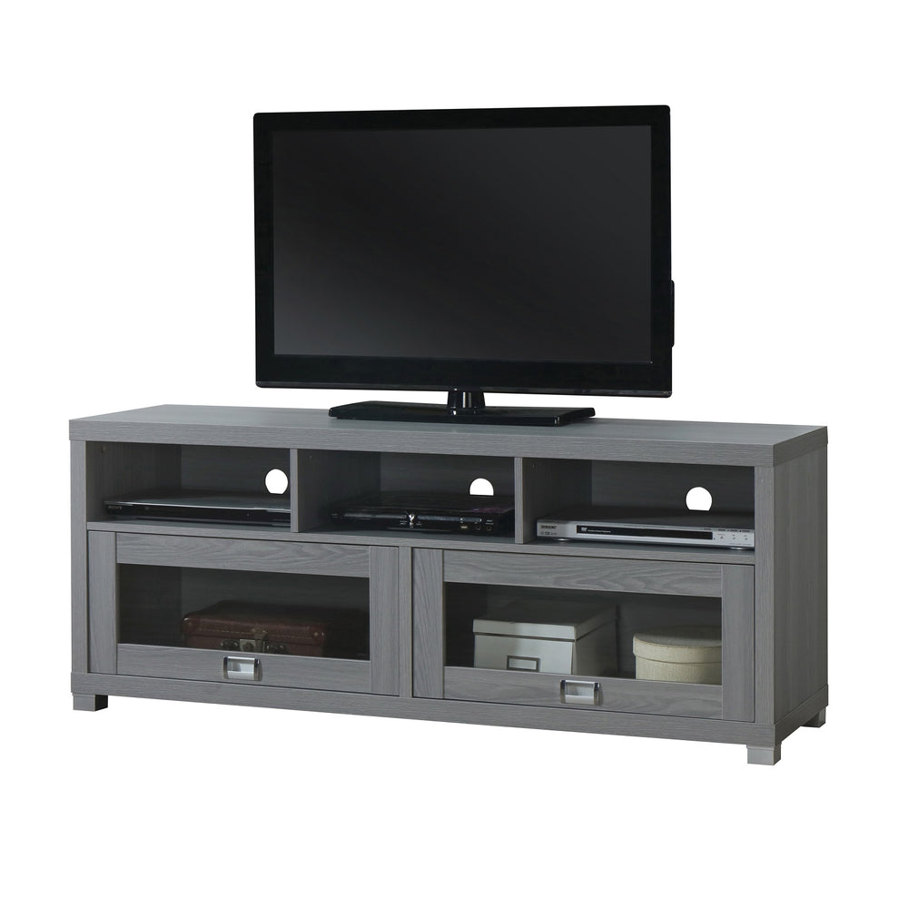 Urban Designs Brighton Console Style TV Stand for TVs up to 60-inch - Grey