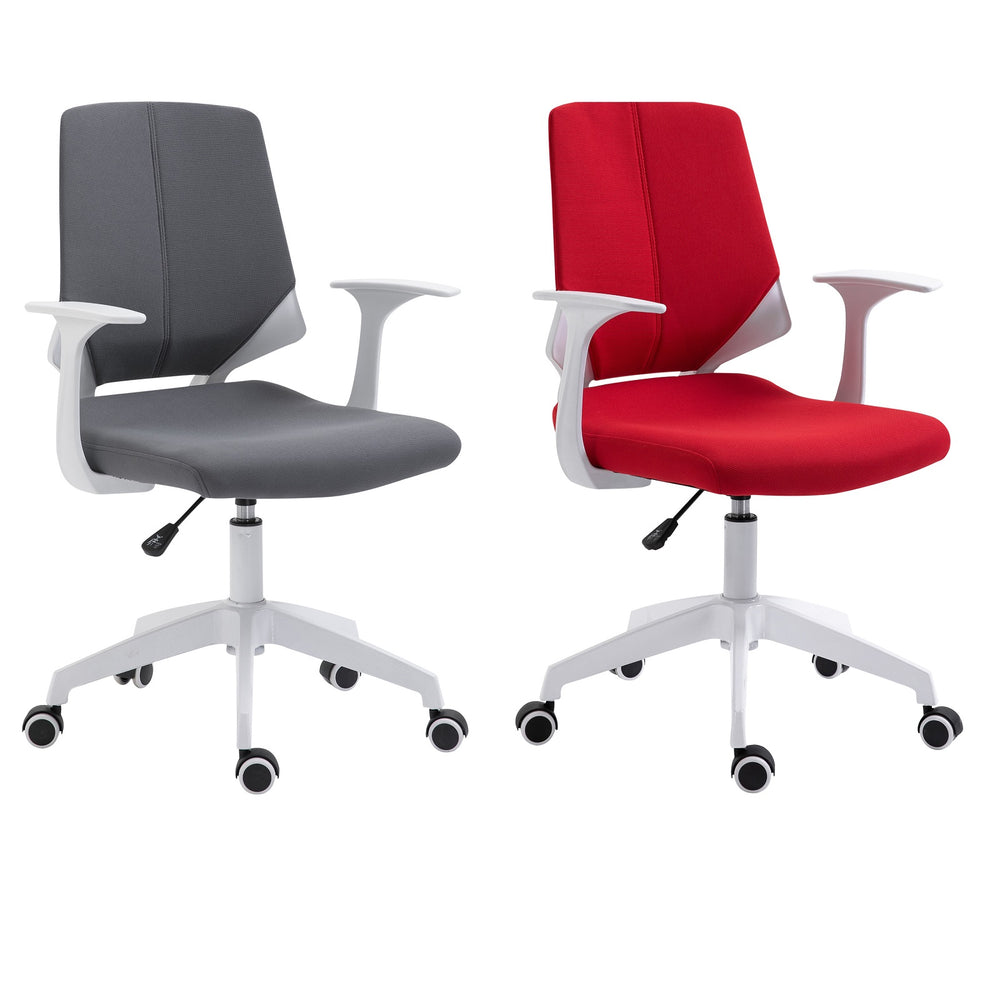 Urban Designs Two Looks Height Adjustable Mid Back Office Chair