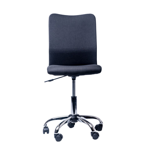 Modern Designs Armless Computer Task Chair - Black