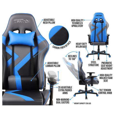 Urban Designs High Back Racer Style Office-PC Gaming Chair
