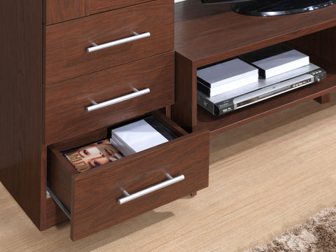 Modern Designs Open Storage TV Stand Entertainment Center For TVs Up To 50 Inches