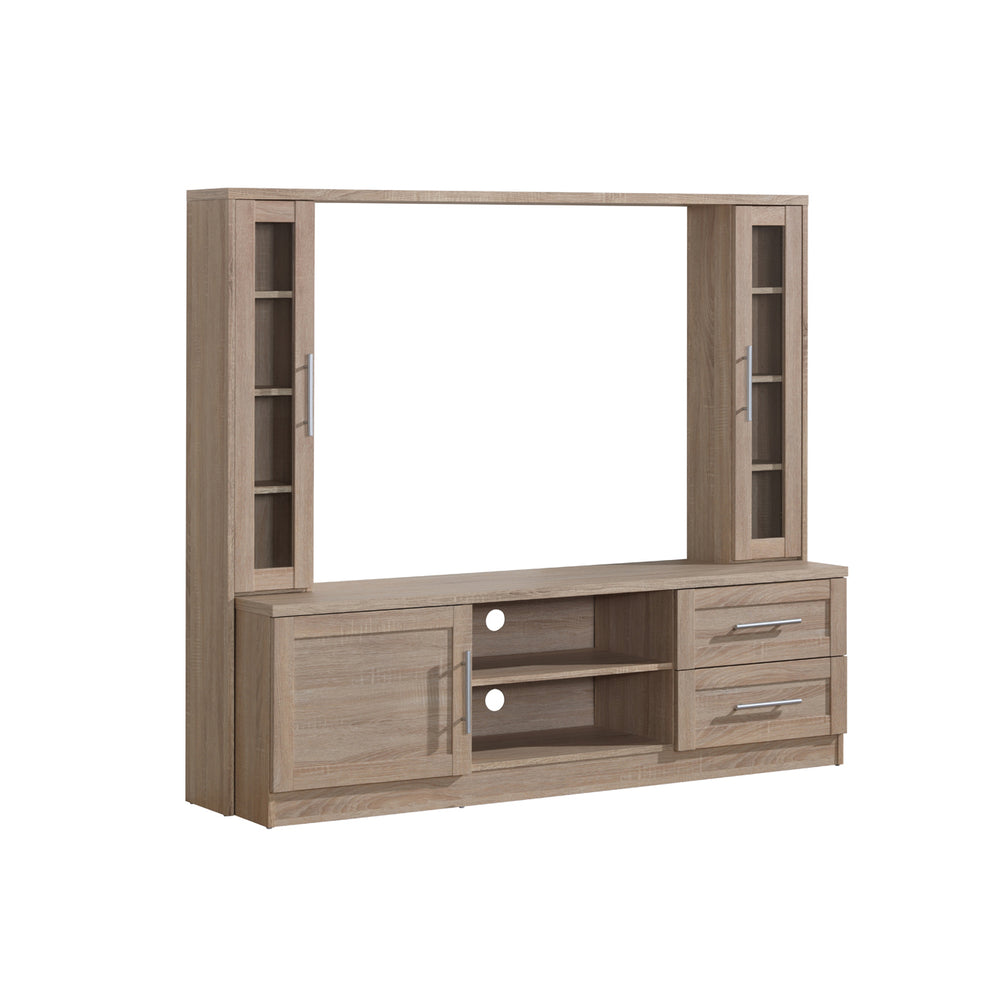 Modern Designs Entertainment Center with Storage For TVS Up To 50 Inches