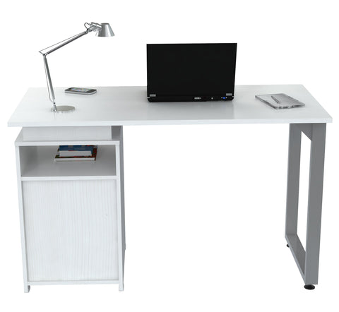 Inval Writing Desk - Laricina White