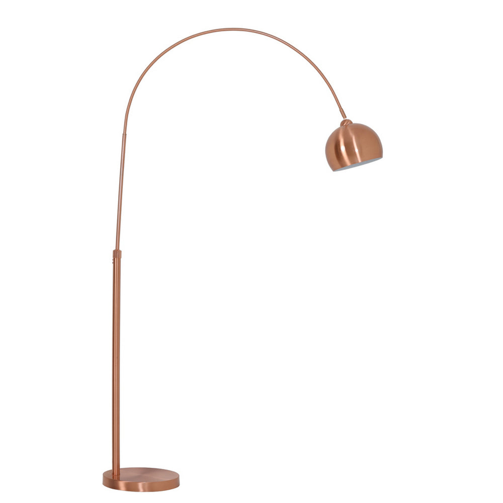 "Light and Living Forsyth Rose 77.5"" Arc Floor Lamp"