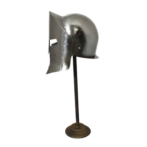 Urban Designs Antique Replica Armor Spartan Helmet - Chrome