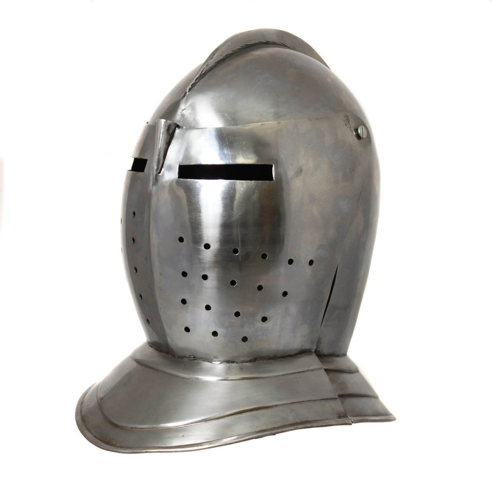 Urban Designs Antique Replica Renaissance-Era Burgonet Cavalry Armor Helmet