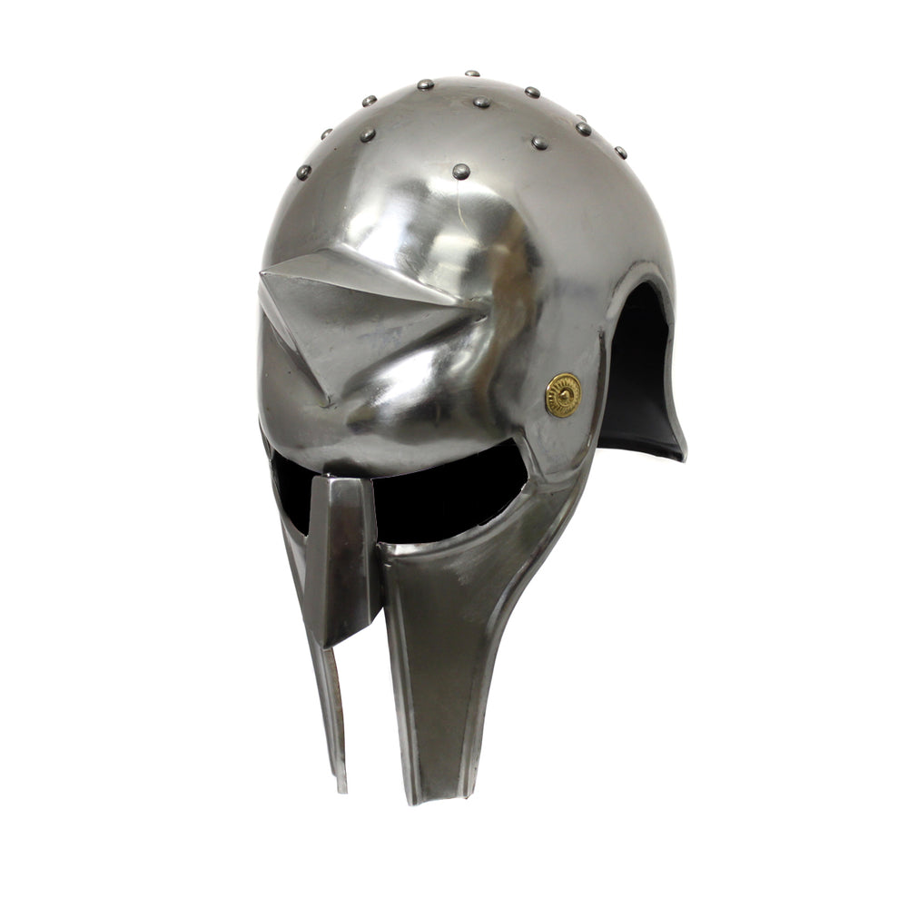 Urban Designs Antique Replica Full-Size Metal Gladiator's Arena Helmet