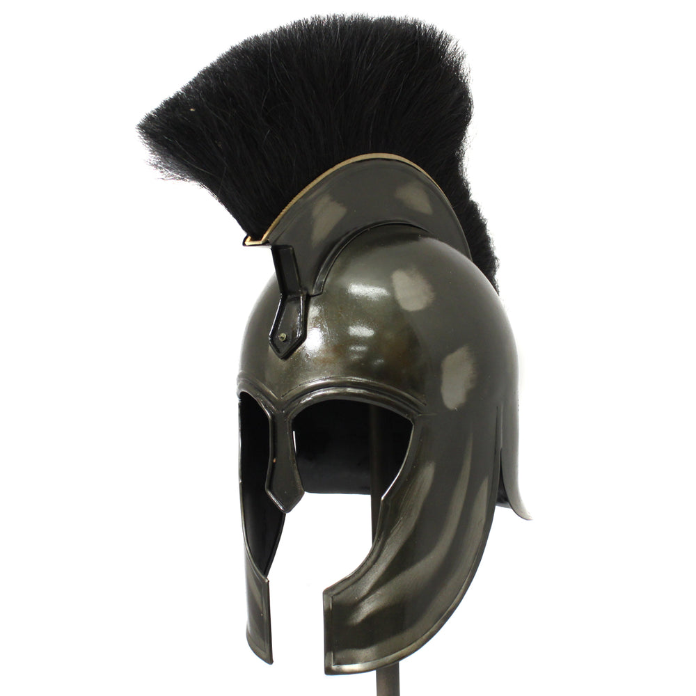 Urban Designs Antique Replica Trojan War Armor Dark Grey Helmet