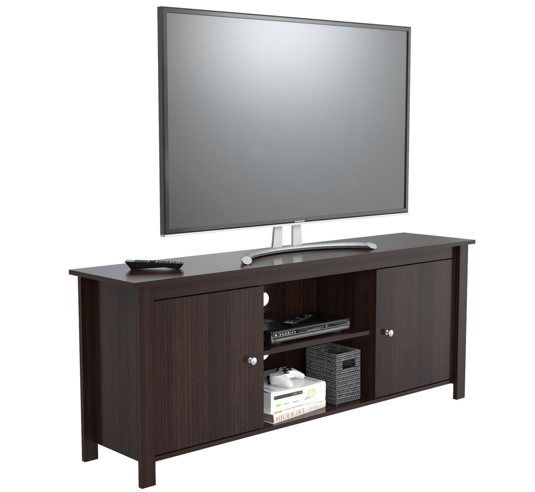 "Inval 60"" TV Stand - Espresso Wengue"