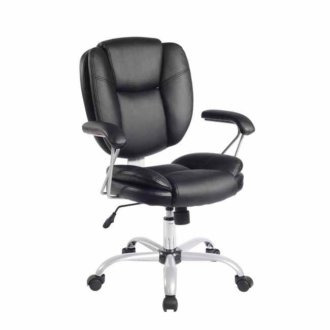 Techni Mobili Managerial Office Task Chair - Black