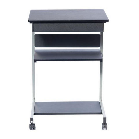 Urban Designs Rolling Laptop Cart with Storage