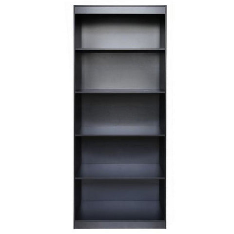 Urban Designs Home 5 Shelf Bookcase - Black