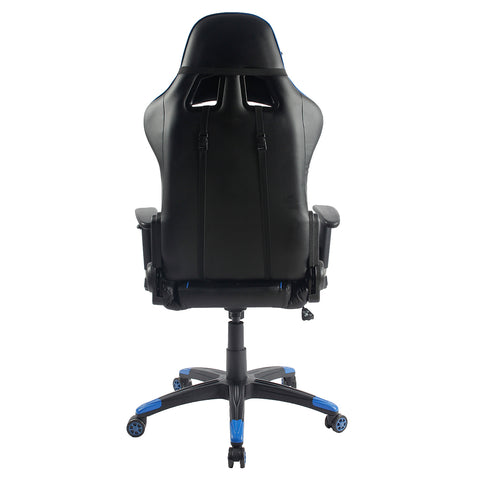 Techni Sport Home Office Racing Style PC Gaming Chair - Blue