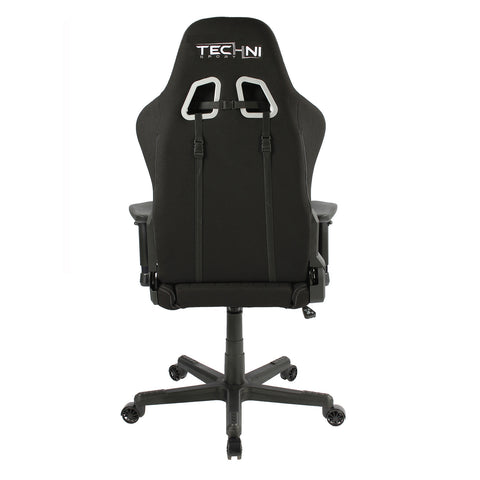 Techni Sport Home Office Racing Style PC Gaming Chair - Black