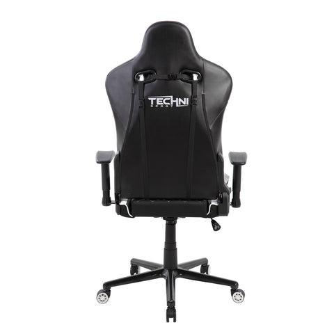 Techni Sport Home Office Racing Style PC Gaming Chair - White