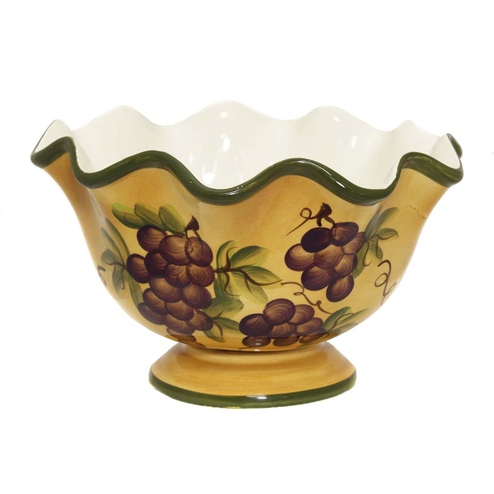 Sonoma Collection Deluxe Hand-Painted Fruit Bowl