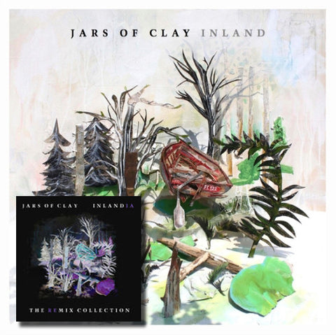 JARS OF CLAY Inland CD + Digital Download of Inlandia Remix Collection