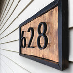 Modern Home Numbers