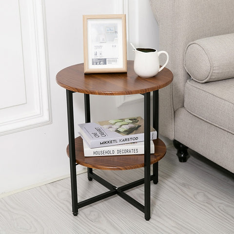 Round Side End Table