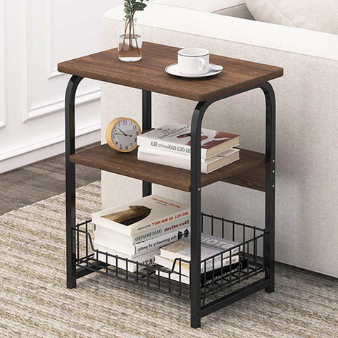 Industrial Style End Table