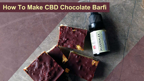 How To Make CBD Pistachio And Chocolate Burfi With A Cardamom And Ginger Twist