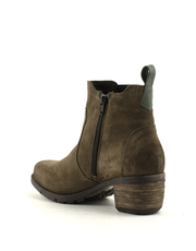Jana Be Natural 8-25416-23 Chelsea Boot Taupe Suede