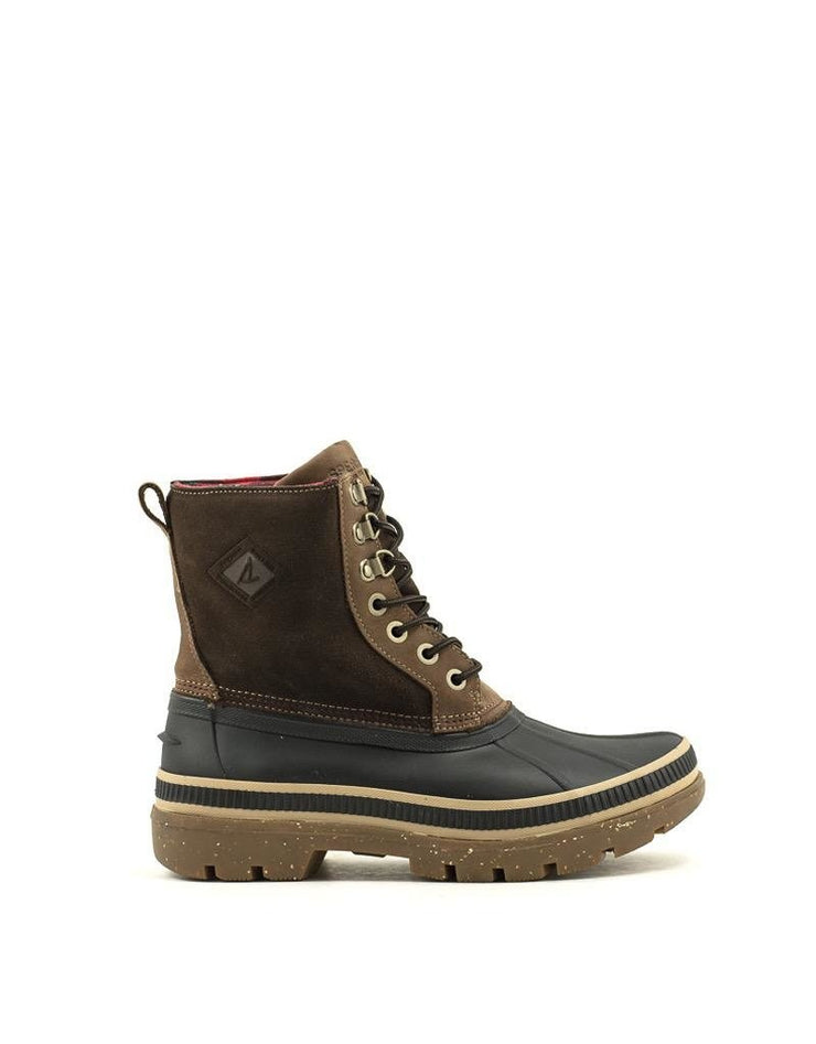 Men's Sperry Ice Bay Boot Black/Tan