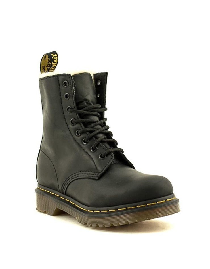Dr. Martens 1460 Serena Burnished Wyoming Black