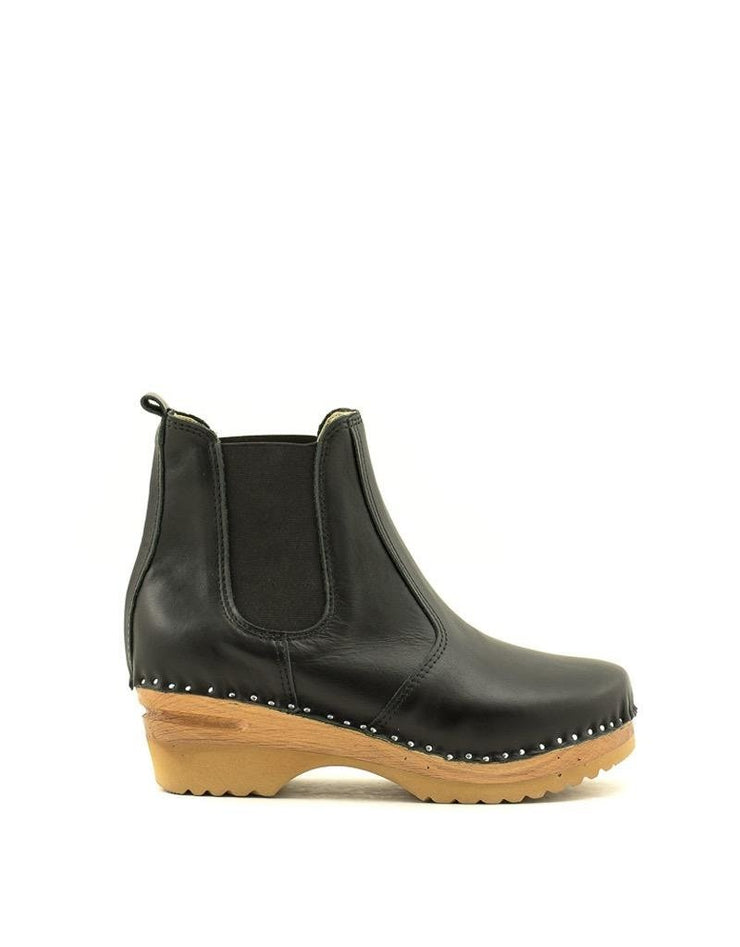 Troentorp Rockwell Chelsea Boot Black/Natural
